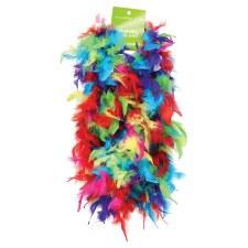 Feather Boa, 6ft- Multi-Color