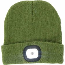 Night Scout Beanie w/ LED Light- Green
