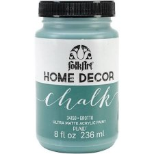 FolkArt Home Decor Chalk Paint 8 oz- Grotto
