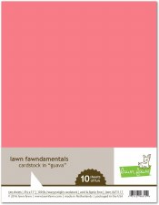 Lawn Fawn Cardstock Pack- Guava