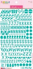 Florence Alphabet Stickers- Gulf
