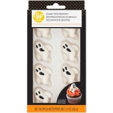 Halloween Baking- Gummy Decorations, Ghosts