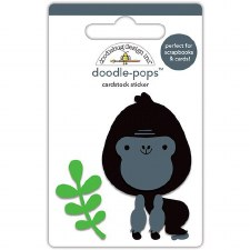 At The Zoo Stickers- Doodle Pops- Gus Gorilla