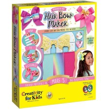 Creativity for Kids Craft Kit- Hair Bow Maker