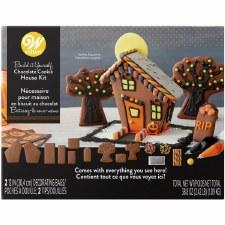 Halloween Baking- Haunted Halloween House Cookie Kit
