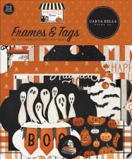 Halloween Market Die Cuts- Frames & Tags