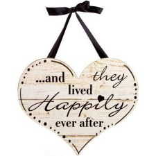 Hanging Wedding Sign- Happily Ever After