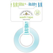 Party Time Washi Tape- Happy Birthday