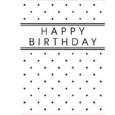 Darice Embossing Folder- Celebrations- Happy Birthday