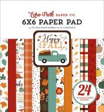 Happy Fall 6x6 Paper Pad