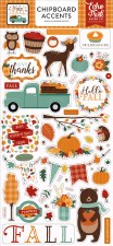 Happy Fall Chipboard Accents