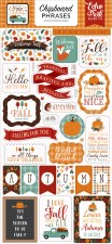 Happy Fall Chipboard Phrases