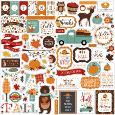 Happy Fall Sticker Sheet