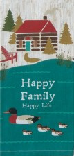 KayDee Designs Dishtowel- Happy Family