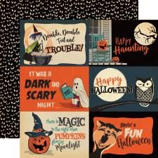 Happy Halloween 12x12 Paper- 4x6 Cards