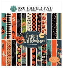 Happy Halloween 6x6 Paper Pad