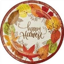 Happy Harvest Dinner Plate