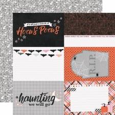 Happy Haunting 12x12 Paper- 4x6 Elements