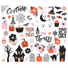 Happy Haunting Die Cuts- Bits & Pieces