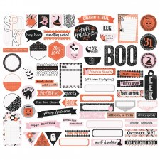 Happy Haunting Die Cuts- Journal Bits & Pieces