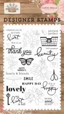 Farmhouse Market Designer Stamps- Happy Moments