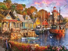 Harbor Evening - 1,000 Piece Puzzle