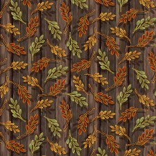 Harvest Elegance Bolted Fabric- Brown