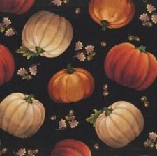 Harvest Elegance Bolted Fabric- Pumpkin