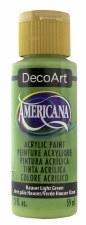 Americana Acrylic Paint, 2oz- Greens: Hauser Light Green