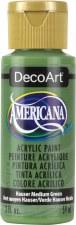 Americana Acrylic Paint, 2oz- Greens: Hauser Medium Green