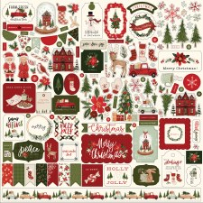 Hello Christmas Sticker Sheet
