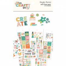 Hey Crafty Girl Bits & Pieces Stickers- Tablet