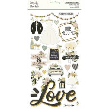 Happily Ever After Chipboard