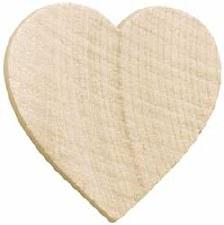 "Heart, 1.5""- 5pk"