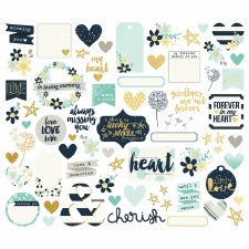 Heart Bits & Pieces Die Cuts
