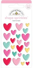 Love Notes Shape Sprinkles- Heart to Heart