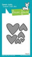 Lawn Fawn Craft Dies- Little Hearts