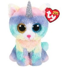 Ty Beanie Boos- Heather the Caticorn