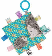 Taggies Crinkle Me Baby Toy- Heather Hedgehog