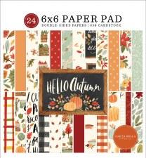Hello Autumn 6x6 Paper Pad
