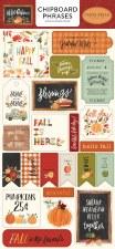 Hello Autumn Chipboard Phrases