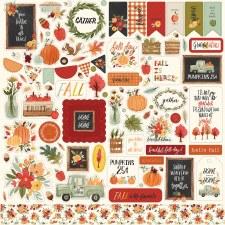 Hello Autumn Sticker Sheet