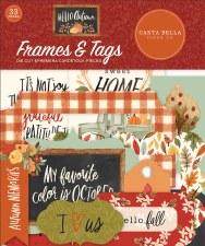 Hello Autumn Die Cuts- Frames & Tags