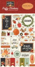 Hello Autumn Stickers- Puffy