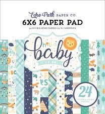 Hello Baby Boy 6x6 Paper Pad