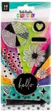 Vicki Boutin Color Study Clear Stamp Set- Hello