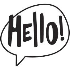 Darice Embossing Folder- Phrases- Hello