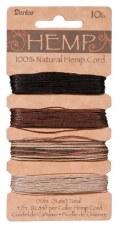 Hemp Cord, 4 Color Pack- Earthy
