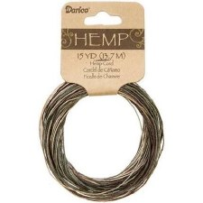 Variegated Hemp Cord, 15yds- Camouflauge