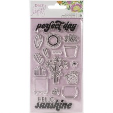 Dear Lizzy Here & Now Clear Stamps